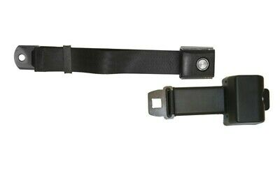 Ford mustang 1967-73 Black retractable seat belts LH & RH / SB-BK-68-PBSB