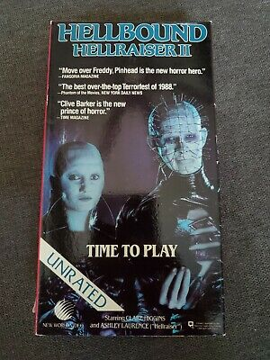 Hellbound Hell Raiser II 1988 Betamax Beta