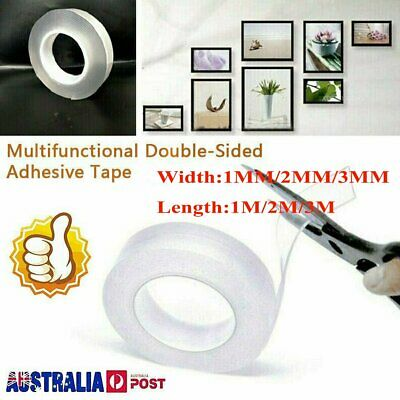 Multifunctional Double-Sided Adhesive Tape Traceless Washable Remove Tapes ZNW
