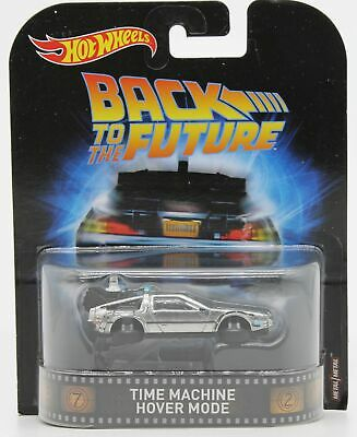 Hot Wheels Real Riders Back To The Future Time Machine Hover Mode
