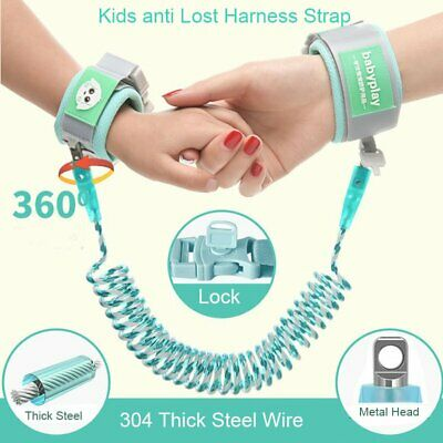 Anti-lost Harness Belt Strap Wrist Leash Safety Walk Hand Toddler Kids 2.5/ 1.5M