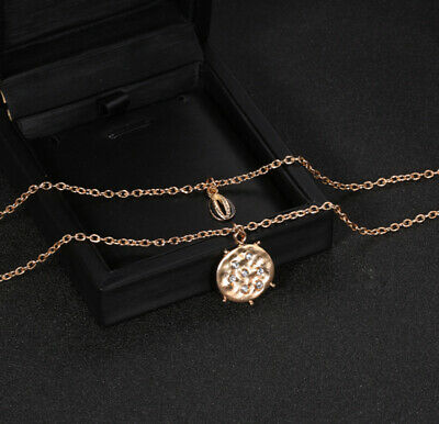 Fashion Women Multilayer Clavicle Necklace Pendant Charm Shell Summer Neckalce