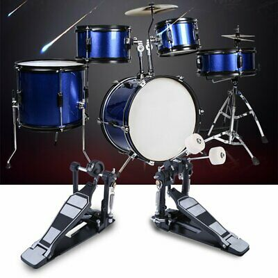 Double Bass Drum Pedal  - Twin Kick Drum Pedal Dual Chain Percussion Instrument