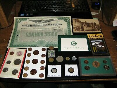 Huge US Coin Lot 95 Proof Set MINT SET LOT Silver Coin Lot Copper Rounds Stock
