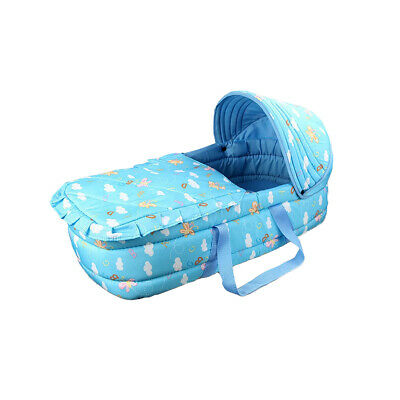 Newborn Baby Infant Moses Basket Portable Cradle Travel Bed Bassinet