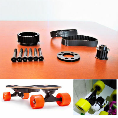 Electric Skateboard Longboard Kit Pulleys And Motor Mount for 80mm Wheel OS914