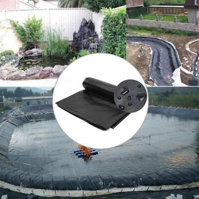 5'x10' HDPE Pond Liner Landscaping Garden Pool Waterproof Liner Heavy Duty  *