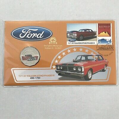 2017 50c 1971 Ford XY Falcon GTHO Phase III ANDA Overprint PNC ONLY 750