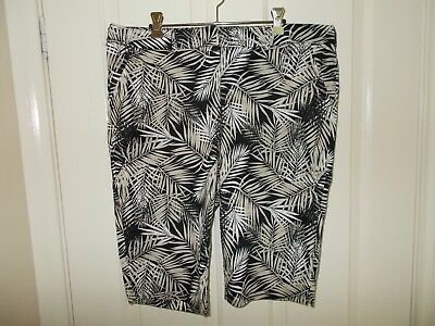 Millers Patterned Shorts, Size 14