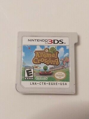 Animal Crossing: New Leaf (Nintendo 3DS, 2013) Authentic - Cartridge Only