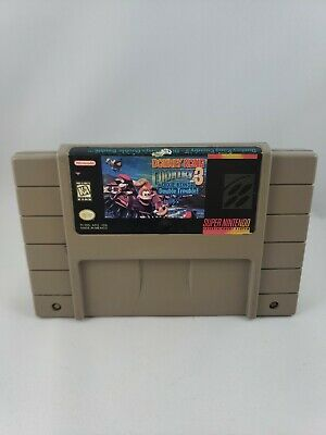 Donkey Kong Country 3 Dixie Kong's Double Trouble SNES (Super Nintendo) Tested