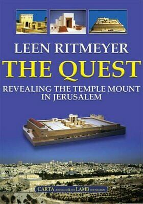 NEW - The Quest: Revealing the Temple Mount in Jerusalem by Leen Ritmeyer