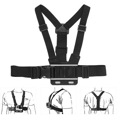Adjustable Chest Strap Mount Kit For Go pro Session/4/3/HD Sports Action Camera~