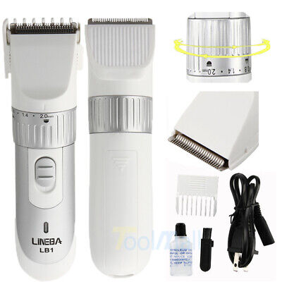 Micro Touch SOLO Rechargeable Trimmer Razor Shaver Edges Men W/ 3 PCS Combs Gift