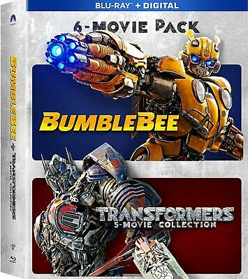 Bumblebee & Transformers Ultimate 6-Movie Collection Blu-ray Digital Brand NEW
