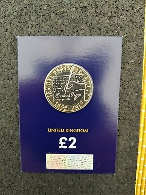2019 Samuel Pepys 350th Aniversary  Two Pound Coin BU Uncirculated*¥