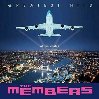 The Members GREATEST HITS - Brand NEW Sealed Clear Vinyl LP RSD