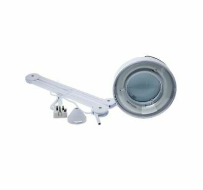Magnifying Lamp 22W Daylight Round Table Clamp Magnifier Worktop Lamps Lights UK