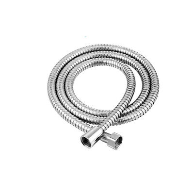 1.5M Shower Hose Brushed Nickel Extra Long Stainless Steel Handheld Extension US