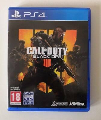 Call Of Duty Black Ops 4 [COD BO4] PS4 SAME DAY Dispatch [Order By 4pm]