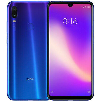 Global Xiaomi Redmi Note 7 4+128GB Smartphone 6.3'' 4G 2*SIM 4000mAh 8*Core EU