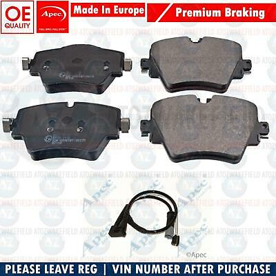FOR BMW 5 SERIES 518d 520d 525d F10 F11 FRONT PLATINUM GERMANY BRAKE PADS SENSOR