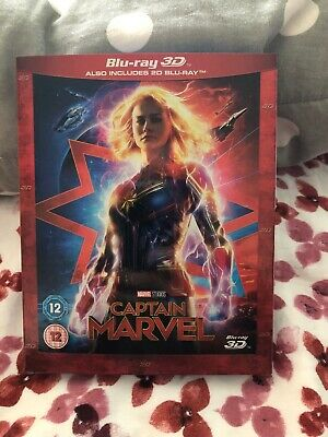 Captain Marvel (3D Edition with 2D Edition) [Blu-ray] - New & Sealed