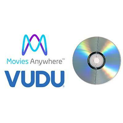 broken dvd + VALID DIGITAL COPY CODE - Movies Anywhere Vudu UltraViolet