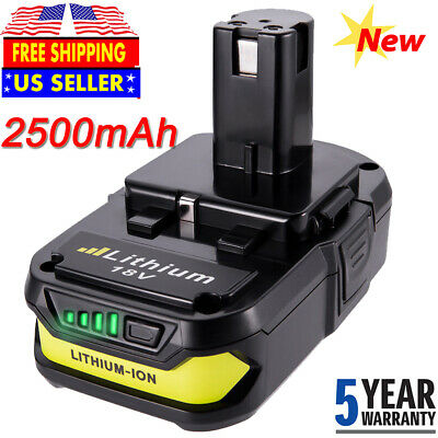 For Ryobi P190 18-Volt ONE+ Lithium-Ion Compact Battery 2.5Ah P102 P107 P106 NEW