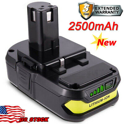FOR Ryobi ONE+ 18V 18Volt 2.5Ah P108 P102 P103 P104 P107 P190 Lithium BATTERY US