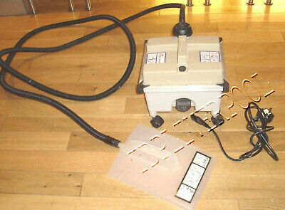240V Earlex Super Steamer Wallpaper Stripper with Wall plate and on castors