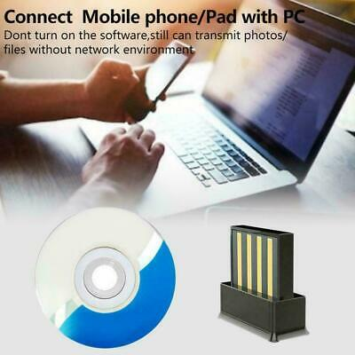 Bluetooth V5.0 Wireless USB Mini Dongle Adapter For Windows PC Top Laptop T0Y9