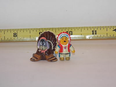 Eyeore Winnie The Pooh Characters Disney Thanksgiving Dollhouse Miniature Fairy