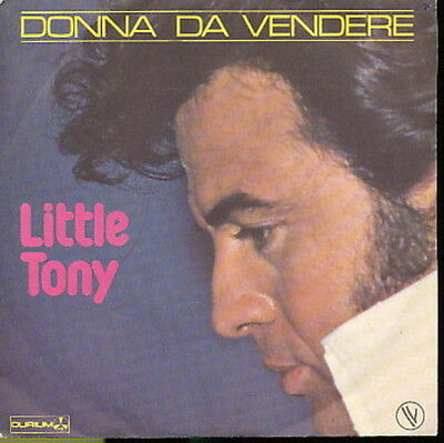 Little Tony 45 Tours France Donna Da Vendere+