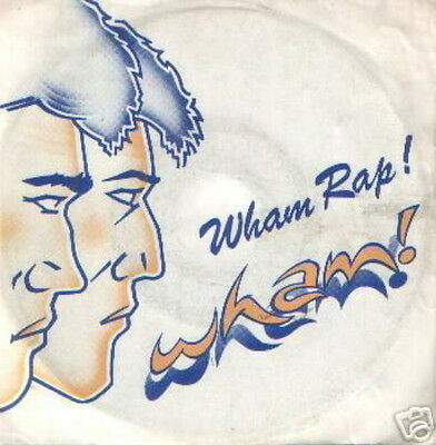 Wham 45 Tours Hollande Wham Rap