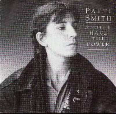 Patti Smith 45 Tours Germany People Have The Power (2)