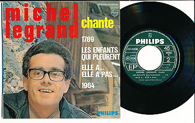 "Michel Legrand Ep 7"" France Michel Legrand Chante"