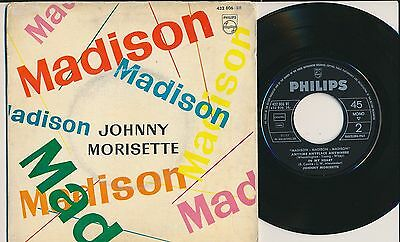"Johnny Morisette 45 Tours Ep 7"" Spain Madison"