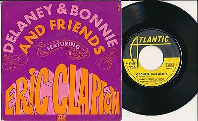 "Delaney & Bonnie And Friends Eric Clapton 45 Tours 7"" France Comin'home"