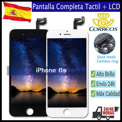 Pantalla Completa para iPhone 6S LCD Screen Tactil Digitalizador Negro Blanco