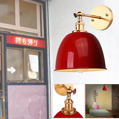Antique Vintage Style Industrial Wall Light Adjustable Lampshade Lamp Shade
