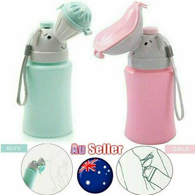 Portable Kid Urinal Toilet Potty Training Baby Boy Girl Car Travel Supply 500ML#