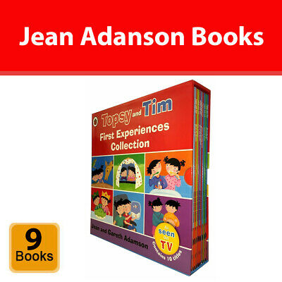 Jean Adanson 9 Books Collection Set Topsy & Tim First Experiences Collection NEW