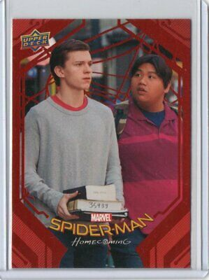 2017 Upper Deck Marvel Spider-Man Homecoming Red Parallel#024/199