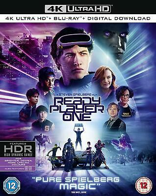 Ready Player One [Blu-ray] [2018] New UNSEALED