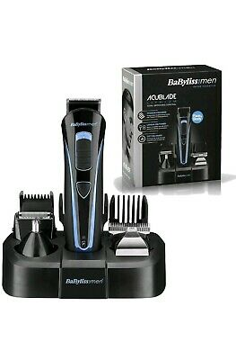 Babyliss 7426U AcuBlade Lithium Body Nose Hair Trimmer 5 in 1 Grooming Kit *NEW*