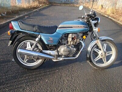 1981 Honda Cb 250 N Superdream - Project