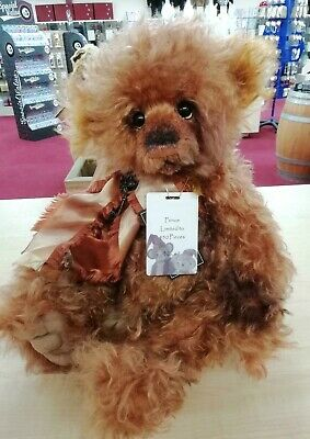 SPECIAL OFFER! Charlie Bears Isabelle Mohair PRINCE Number 67/450 (RRP £220)