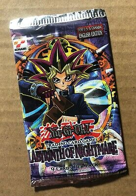 Yu-Gi-Oh! Trading Card Game Labyrinth of Nightmare (LON) Booster Pack New/Sealed