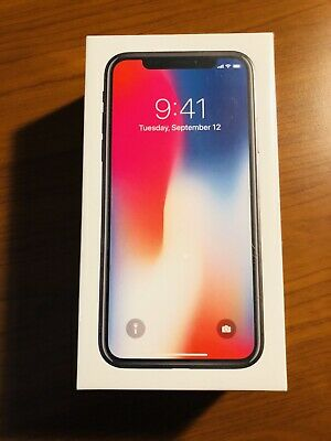 BRAND NEW SEALED Apple iPhone X - 64GB - Space Gray (Unlocked) A1901 (GSM) (CA)
